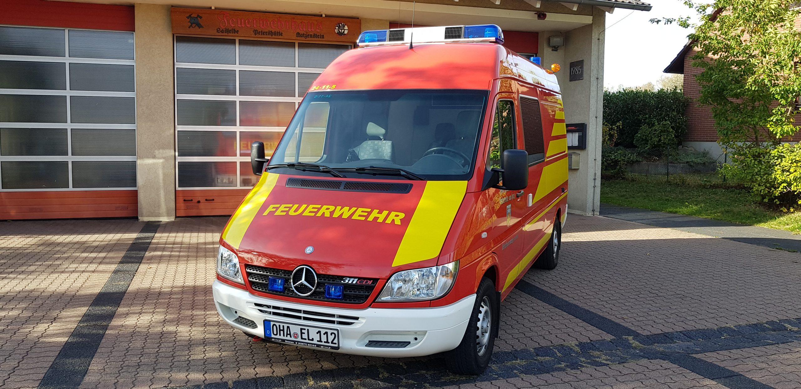 #0014 - ELW Feuerwehr Osterode Ortsfeuerwehr Lasfelde